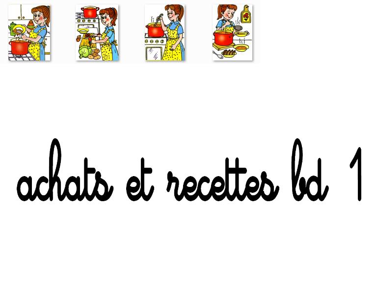 Achat et recette bd5
