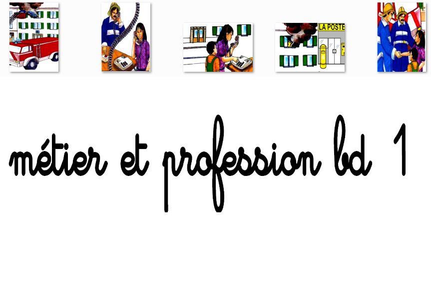 Métier et profession bd1