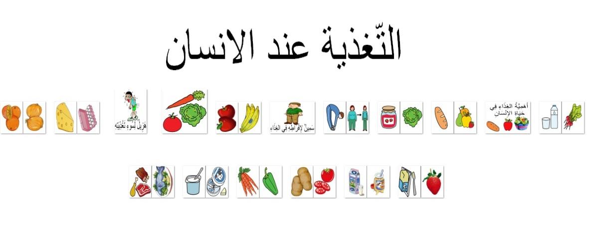 التّغذية عند الانسان