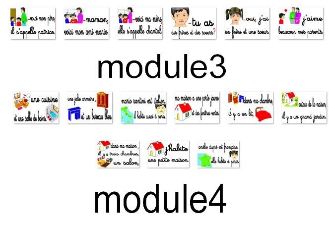 modules 3 et 4