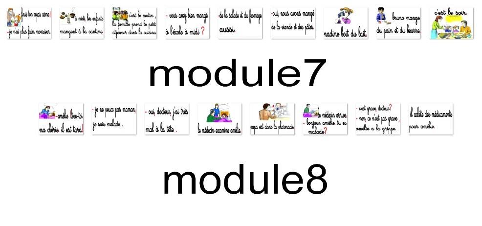 modules 7 et 8