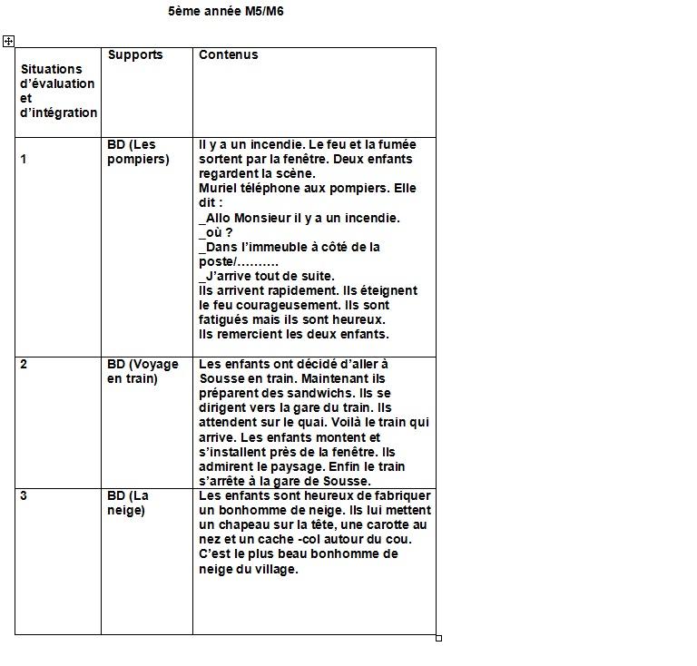 évaluation 3