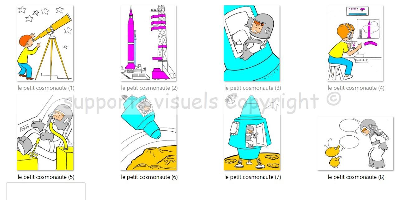 le petit cosmonaute
